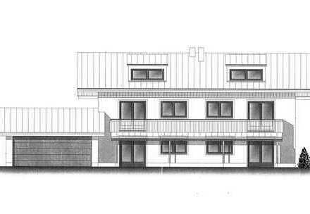 Der Ausblick wird Sie begeistern 3-4-Zimmer-Neubau-Wohnung im 1.Obergeschoss u. Dachgeschoss