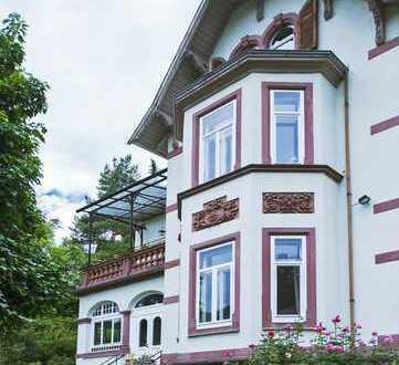 Einzigartige Jugendstil-Gartenwohnung mit Schlossblick in Neuenheim