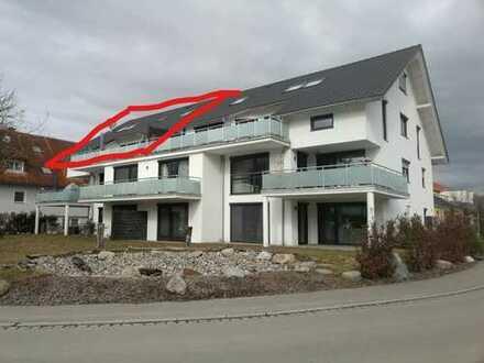Sonnige 4-Zimmer-Wohnung in Neuravensburg mit großem Südbalkon