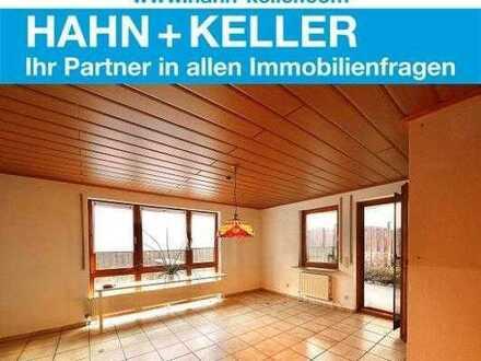 Geräumige 4-Zimmer-Wohnung mit Terrasse und Garten sucht Mieter!