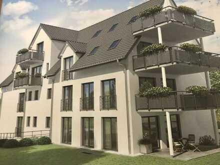 Erstbezug mit Einbauküche und Balkon: stilvolle 3-Zimmer-Wohnung in Malmsheim