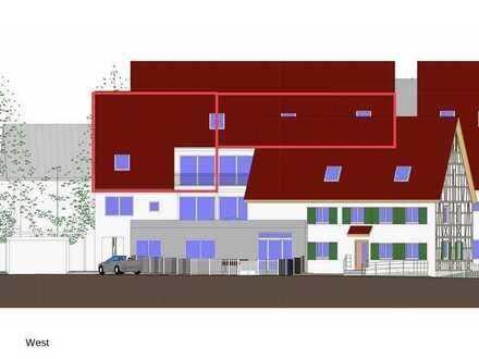 Erstbezug mit Balkon: freundliche 4-Zimmer-Dachgeschoss-Maisonette-Wohnung in Wurmlingen