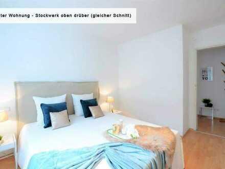Einziehen und Wohlfühlen - frisch renovierte 3-Zimmer-Wohnung mit EBK + Balkon in Heidelberg Boxberg