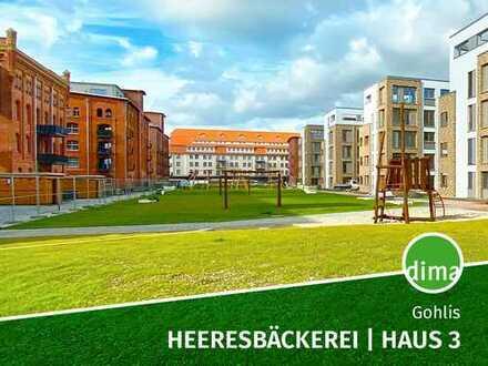 ERSTBEZUG   Heeresbäckerei-Haus 3 + Balkon + TG-Stellplatz + HWR + Tageslichtbad +Gäste Bad + Keller