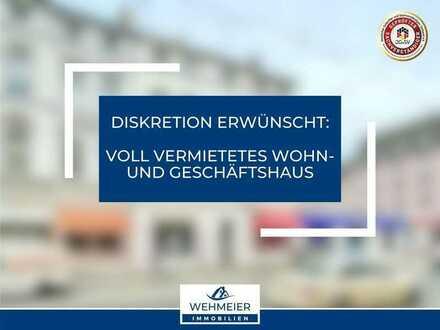 Voll vermietetes Wohn- und Geschäftshaus - inkl. exzellentem Steigerungspotenzial