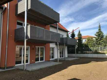Erstbezug : tolle 3-Zimmer-Wohnung in Gunzenhausen mit EBK und 2 Kfz-Stellplätzen