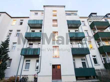 Die ideale Kapitalanlage: Gemütliche Dachgeschoss-Wohnung in Leipzig mit guter Innenstadt-Anbindung!