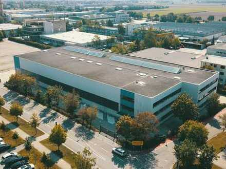 3.040m² hochwertige Werkhalle mit Kranbahn zu vermieten