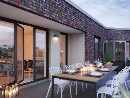 Penthouse mit großer Dachterrasse * Perfekt für Singles oder Paare
