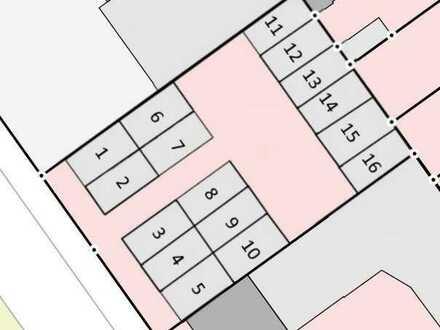 Bremen - Findorff: Baugrundstück mit Bestand von insg. 16 Fertiggaragen (die Garagen sind kranbar).
