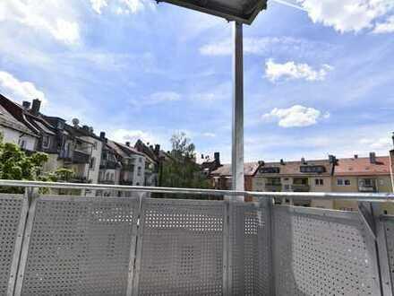 Nibelungenviertel 2Zi, 3.OG mit Balkon