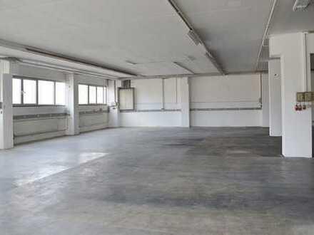 Halle, Hallenfläche für Produktion & Lager (820m²) direkt an A7 & B29