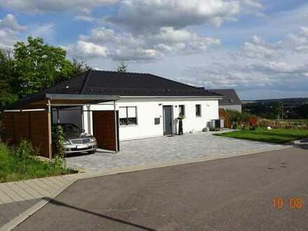 Neuwertiges Einfamilienhaus mit drei Zimmern und EBK in Schwarzach, Neckar-Odenwald-Kreis
