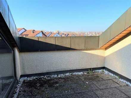 Blick über Schwaikheim aus gemütlicher DG-Wohnung