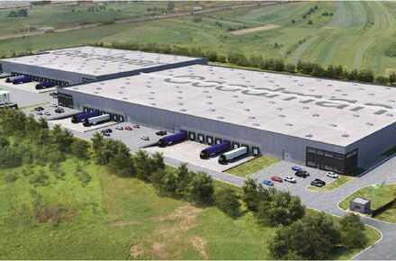 Moderne Logistikflächen ab 2019 in Toplage verfügbar - bis zu ca. 18.500 m² möglich!