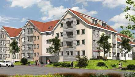 Erstbezug in ruhiger Lage im Grünen! 2 Zimmer mit offenem Wohn-/Essbereich und Wintergarten