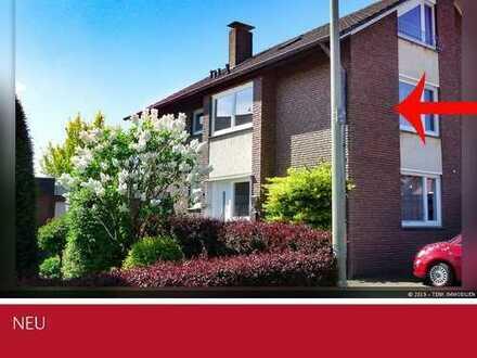 Individuelle Obergeschosswohnung in Weseke sucht neuen Besitzer