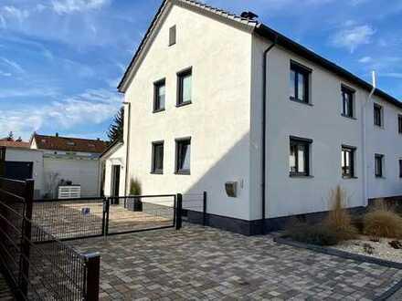 Familienfreundliche Doppelhaushälfte in Sandhausen