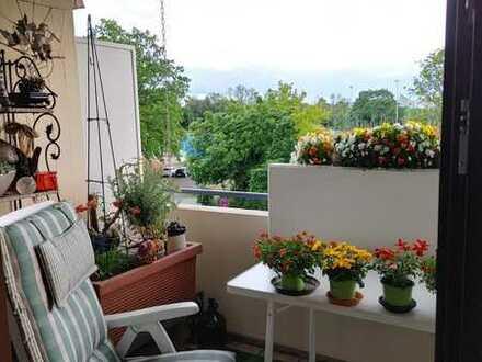 Gepflegte 2-Raum-Wohnung mit Balkon in Worms