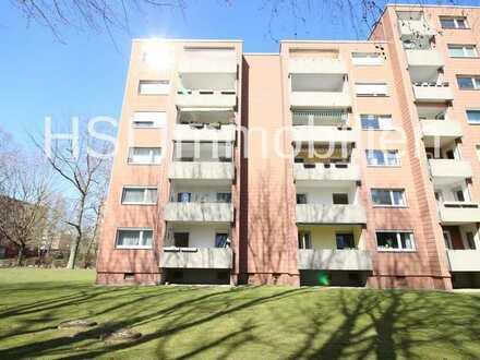 Komfortabel wohnen oder attraktiv vermieten? Schöne 2,5-Zimmer-Wohnung mit Balkon