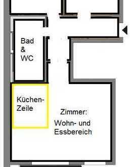 Stilvolle 3-Zimmer-Wohnung mit Balkon und Einbauküche in Nippes, Köln