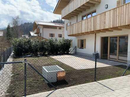 Neubau - Ferienwohnung - Kapitalanlage - herrlich, ruhige EG Wohnung mit großem Garten