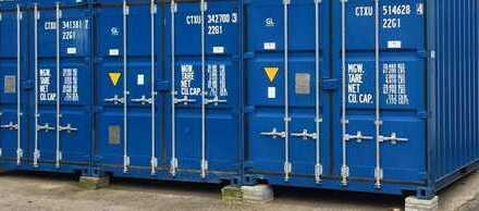 Container Self Storage Lager, z. B. Möbeleinlagerung, div. Größen - videoüberwacht