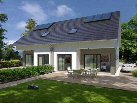 ! Elegantes Doppelhaus mit modernster Technik !