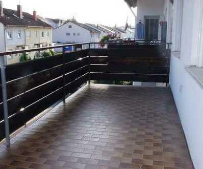 3 ZKB mit Balkon in Bretten-Diedelsheim - Ortsrandlage