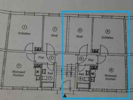 Vollständig renovierte 2-Zimmer-Hochparterre-Wohnung mit Einbauküche in Memmingen