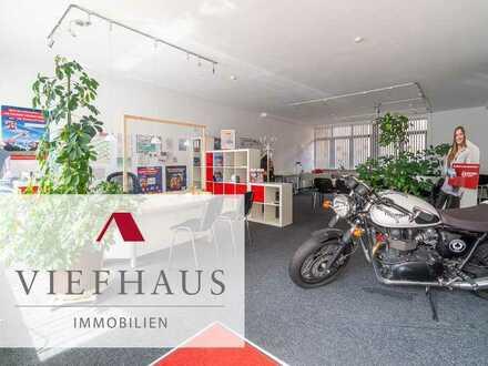 Ebenerdige Büro- oder Verkaufsfläche mit Parkplätzen direkt vorm Eingang