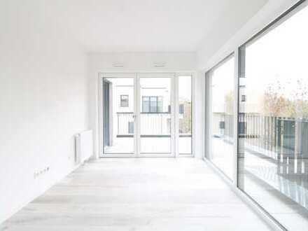 Wohnen mit Wohnberechtigungsschein - 2 Zi, 50 qm, Terrasse und Einbauküche