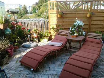 Witten Annen, Im Wullen ! Interessante 4 Zimmer Maisonette Wohnung mit Dachterrasse + Garten !