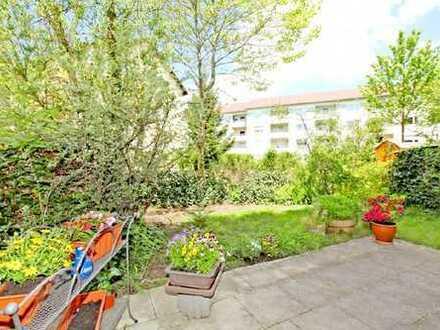 Wunderschöne 3-Zi.-Garten-Whg. in ruhiger und zentraler Lage