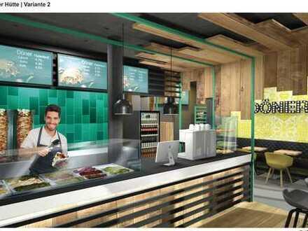 Foodcourt/Restaurant in Bestlage von Rudow