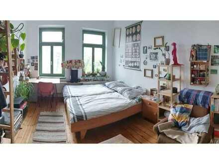 Schönes, unmöbliertes WG-Zimmer im Herzen von Connewitz in 3er-WG