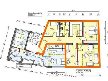 4 Zimmerwohnung in der Fußgängerzone von Schramberg-Tal