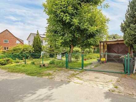 829 m² großes Wohnbaugrundstück mit Abrissobjekt in ruhiger Lage von Berlin Karow!