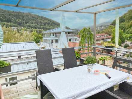 Exkl. Maisonette-Whg. mit Dachterrasse - in TOP-Lage am Neckar