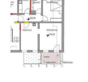 Schöne 3-Zimmer-Einheit in Stuttgart-West mit Terrasse