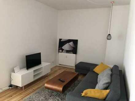 Erstbezug nach Sanierung: Möblierte 2-Zimmer-Wohnung mit EBK im Prenzlauer Berg, Berlin