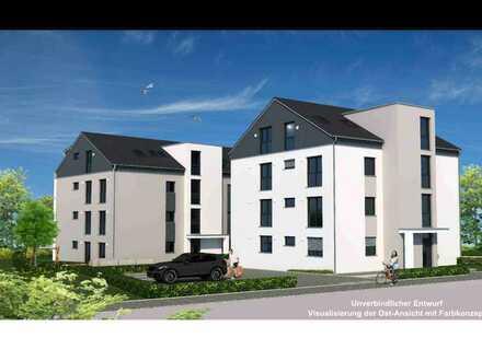 In 6 Monaten beziehbare hochwertig ausgestattete 4,5Zi.-Penthouse-Neubauwhg. A7 mit großem Südbalkon