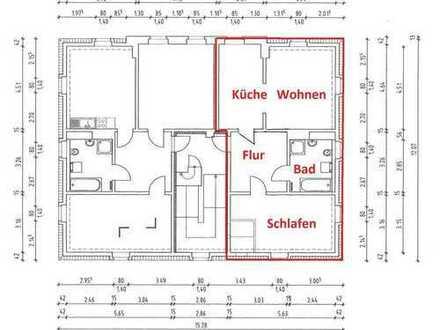 Schöne 2-Raumwohnung im Dachgeschoss zu vermieten