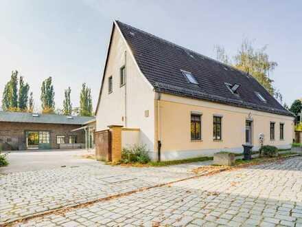Entkerntes Haus am Dorfanger - Gewerbe oder Wohnen