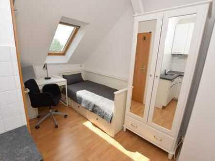 hochwertig möblierte 1-Raum Wohnung Sucht SIE!