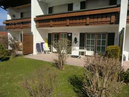 Sehr schöne Terrassenwohnung in gepflegter Wohnanlage von Oberstdorf