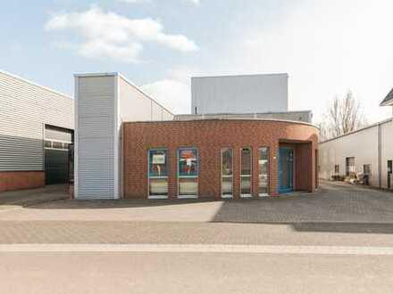 Büroflächen, Lagerhalle und Produktion im Gewerbepark De Lutte direkte Nahe von Bad Bentheim