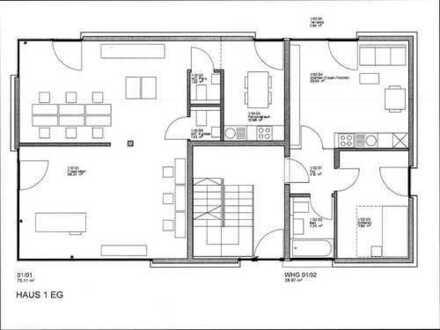 2-Zimmer-Wohnung in Gaimersheim - Erstbezug