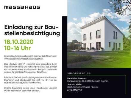 Einladung zur Baustellenbesichtigung nach Bexbach-Höchen am 18.10.2020