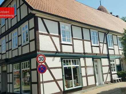 historische Wohnung mit Verkaufsfläche im Herzen von Dannenberg